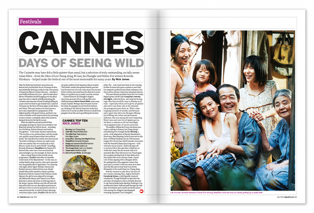 Cannes: Days of Seeing Wild