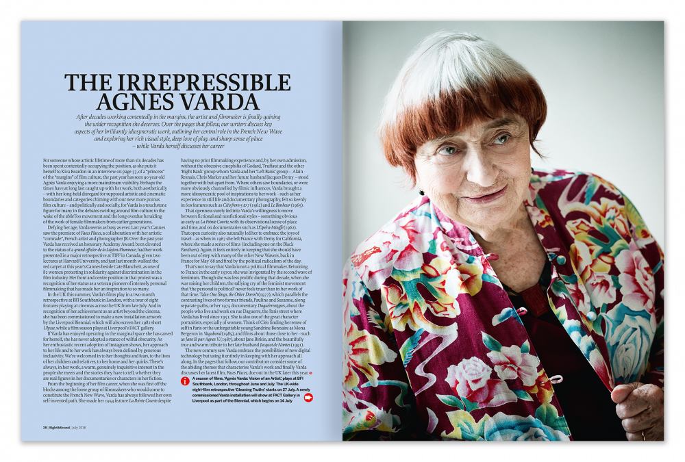 The Irrepressible Agnès Varda