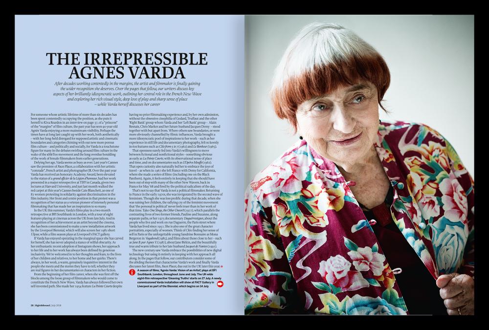 The Irrepressible Agnès Varda