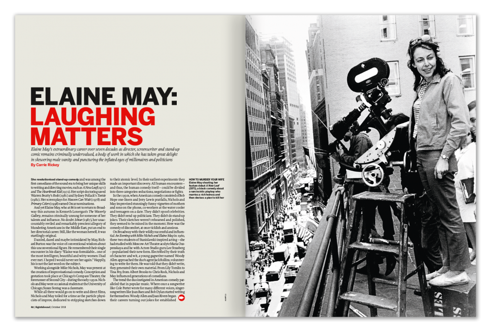 Elaine May: Laughing Matters