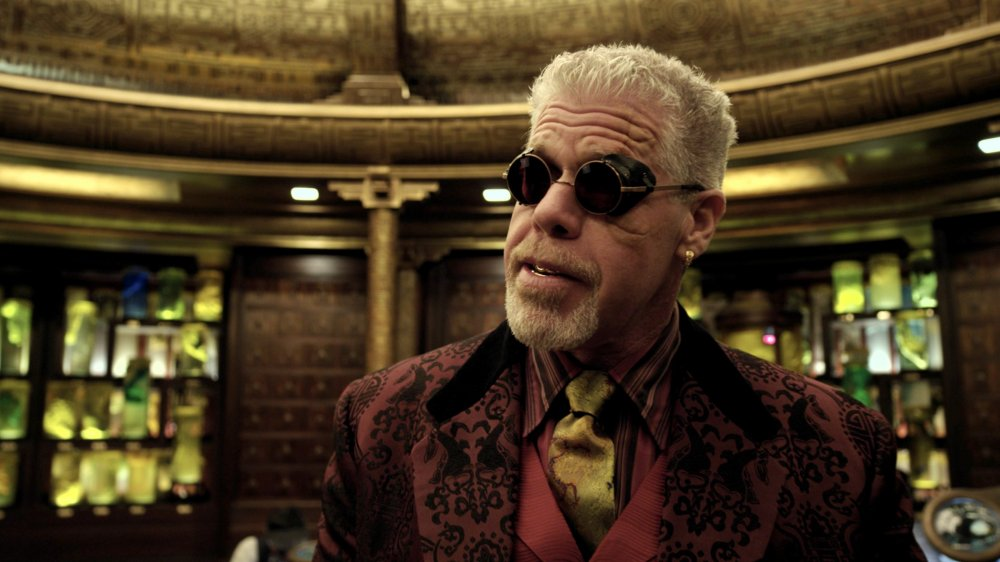 Signs of life: Ron Perlman