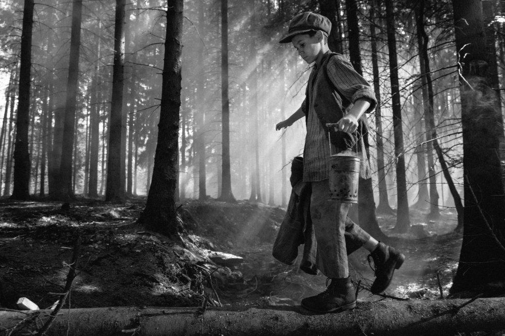 Petr Kotlar as 'a boy' in The Painted Bird (Nabarvené ptáče)