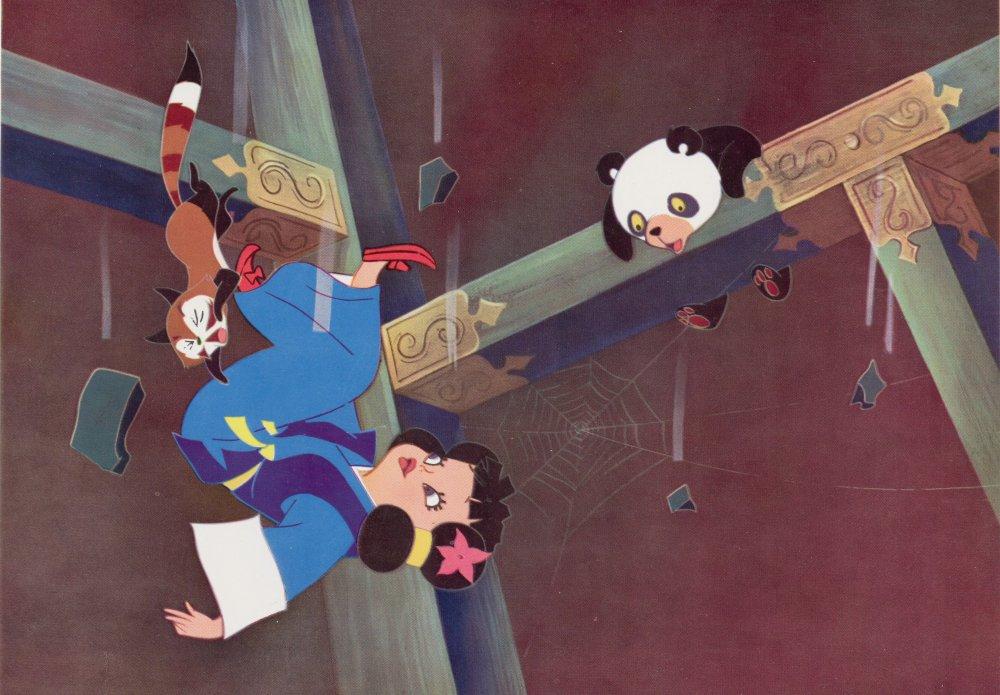 Panda and the Magic Serpent (Hakujaden, aka The Tale of the White Serpent aka The White Snake Enchantress, 1963)