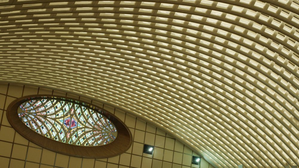 Parabeton – Pier Luigi Nervi and Roman Concrete (2012): the Paul VI Audience Hall at the Vatican, designed by Pier Luigi Nervi