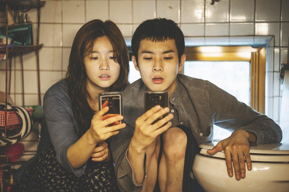 Choi Woo-shik and Park So-dam in Bong Joon-ho's Palme d'Or winner Parasite (Gisaengchung)