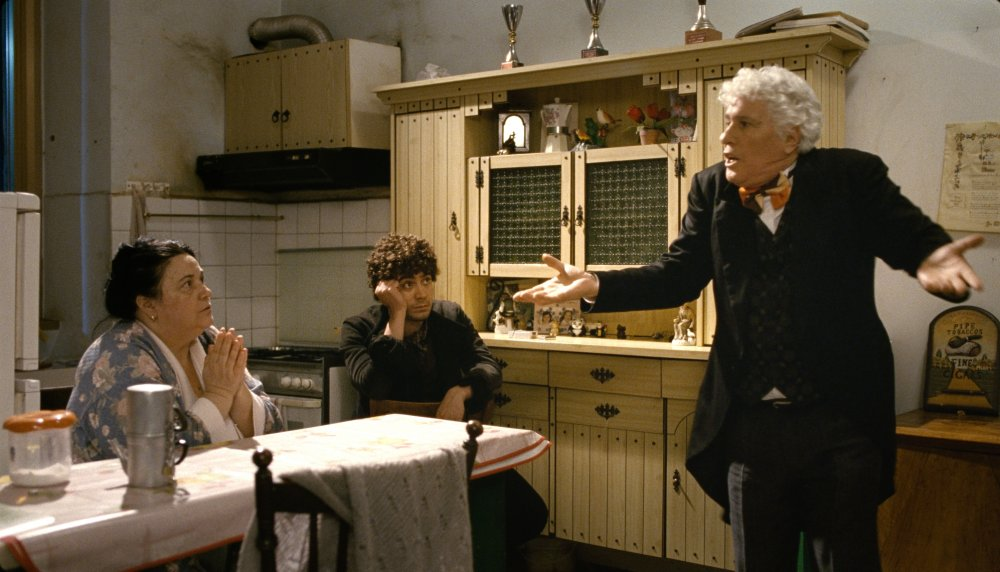Pasolini's former star Ninetto Davoli as Epifanio