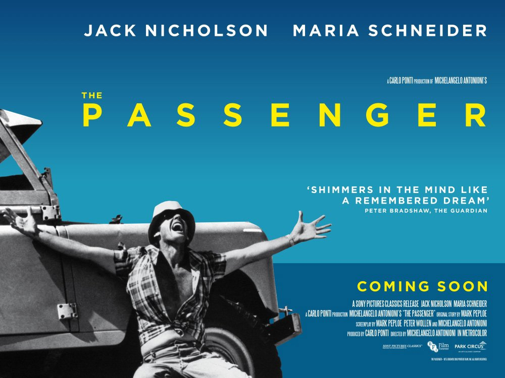 In cinemas: The Passenger (1975) | BFI