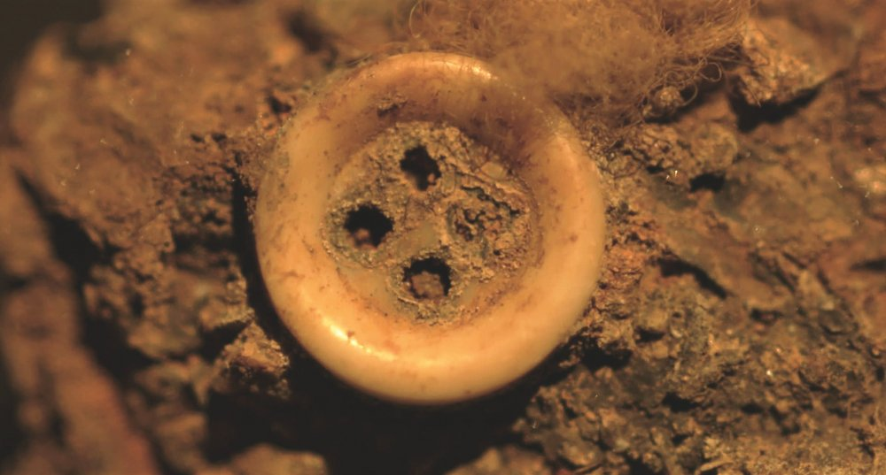 The pearl button found encrusted in one of the railings used to sink Pinochet's victims at sea