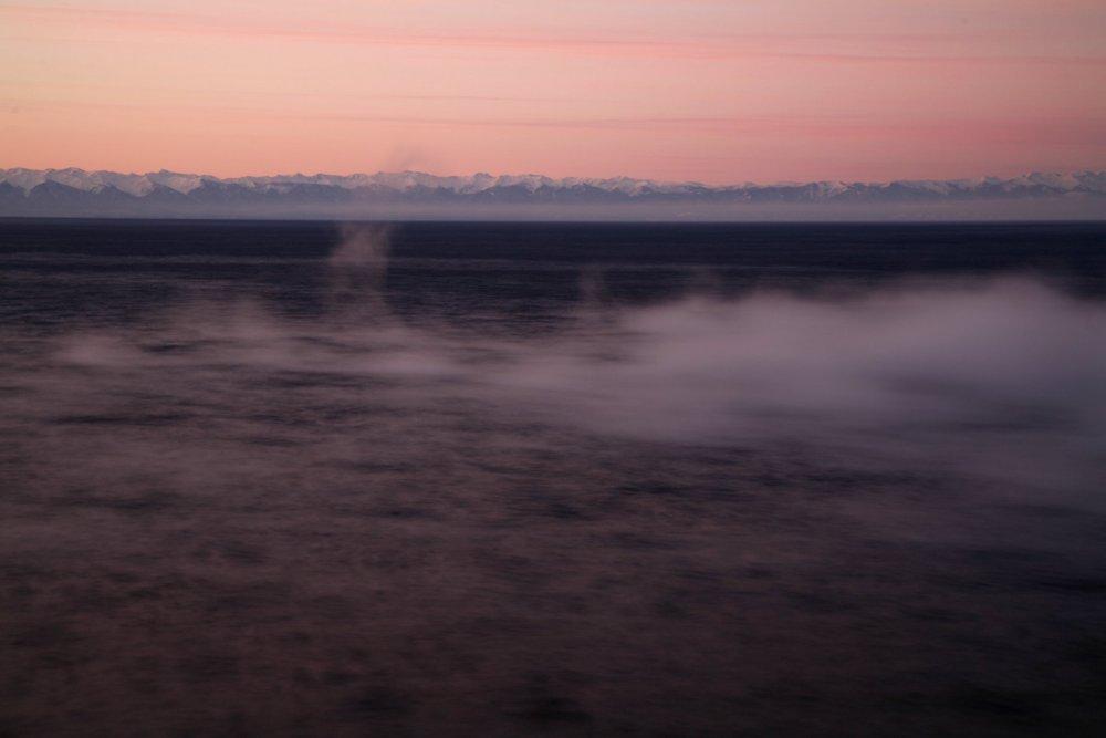 Lake Baikal seen from the Trans-Siberian Express in Perestroika (2009)