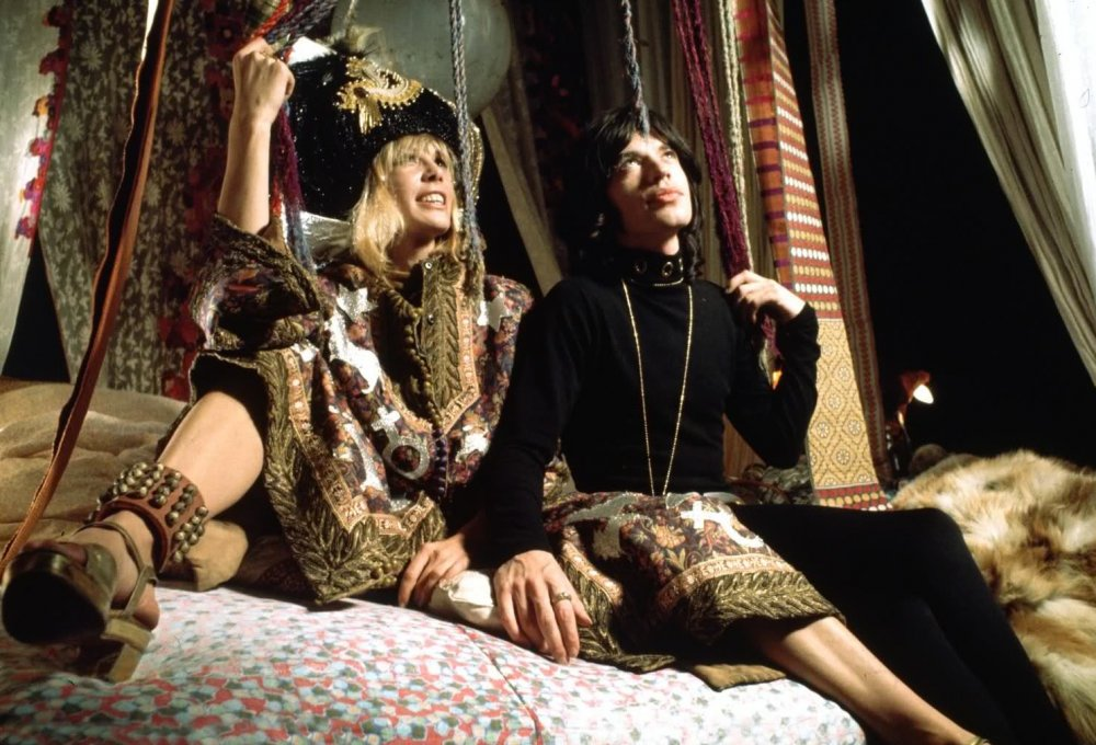 Anita Pallenberg and Mick Jagger in Performance (1970)