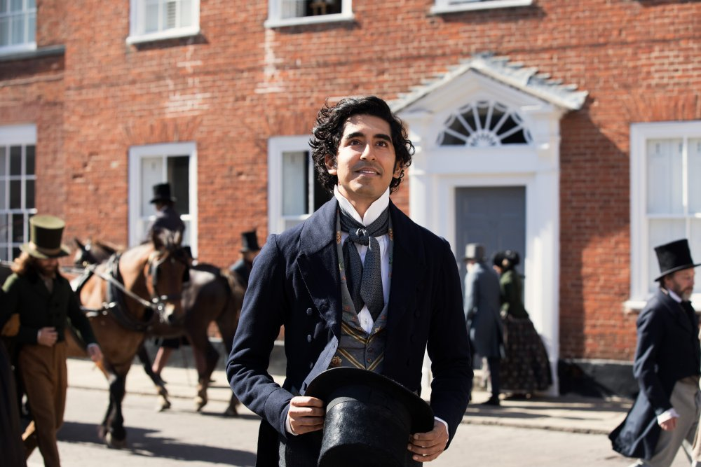 Dev Patel as David Copperfield in The Personal History of David Copperfield