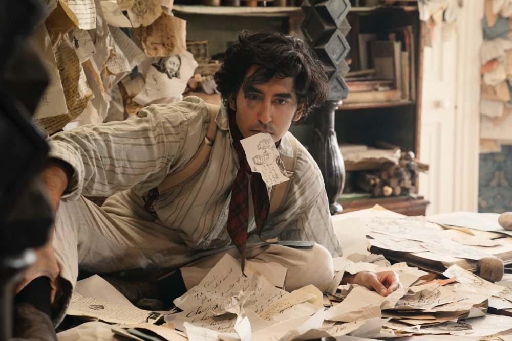 Dev Patel as the titular protagonist of The Personal History of David Copperfield