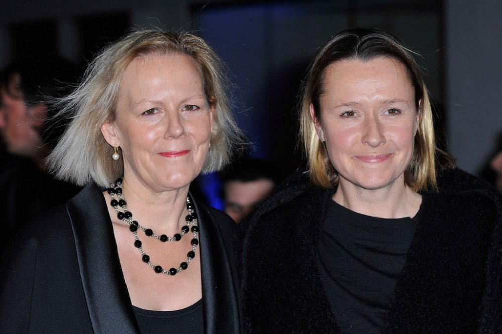Phyllida Lloyd (left) attends the premiere of The Iron Lady (2011) at BFI Southbank.