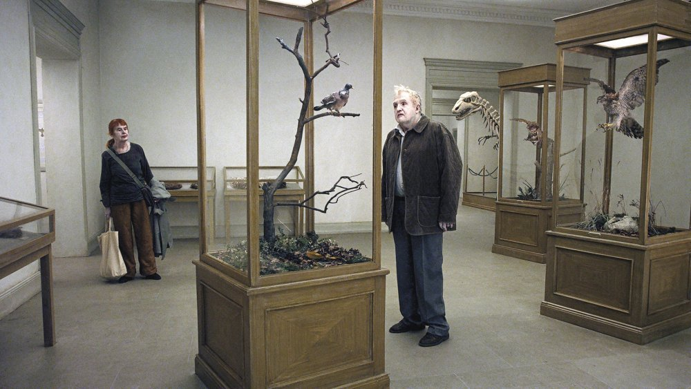 A Pigeon Sat on a Branch Reflecting on Existence (En duva satt på en gren och funderade på tillvaron, 2014)