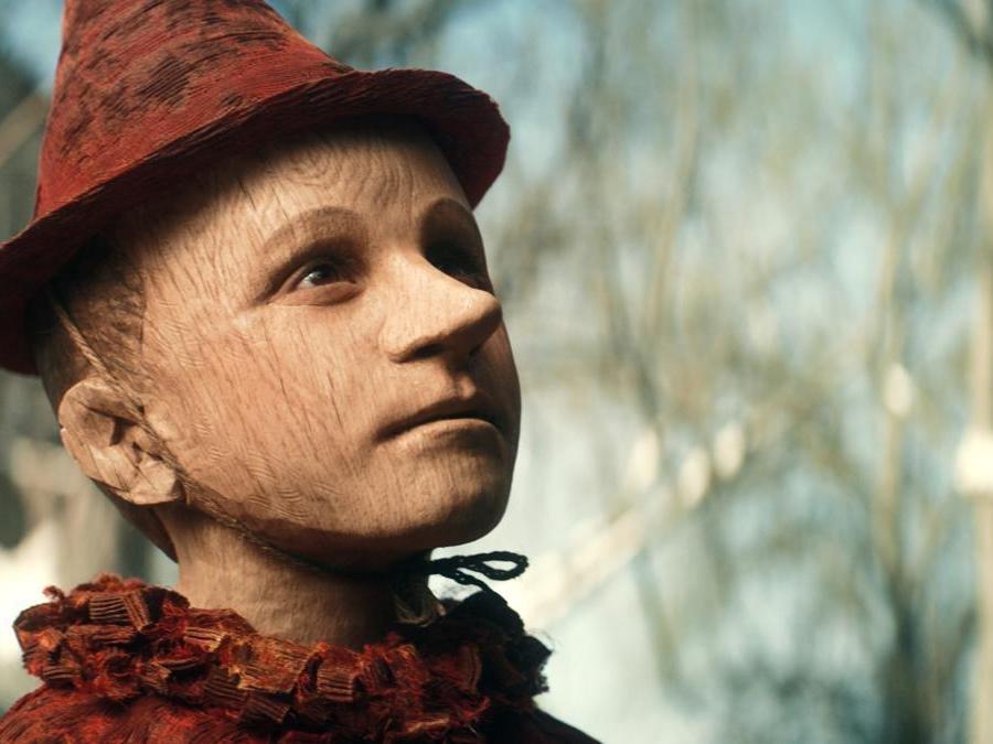 Federico Ielapi as Pinocchio