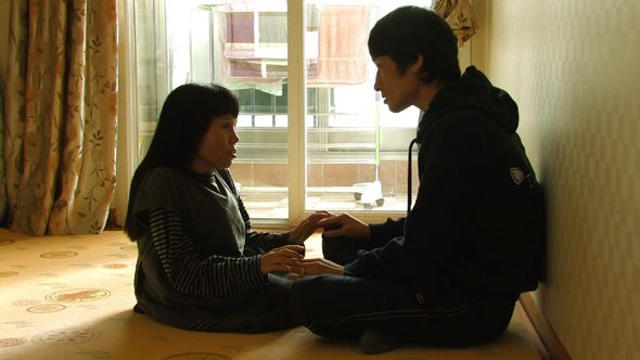 Soon-Ho and Young-Chan at home