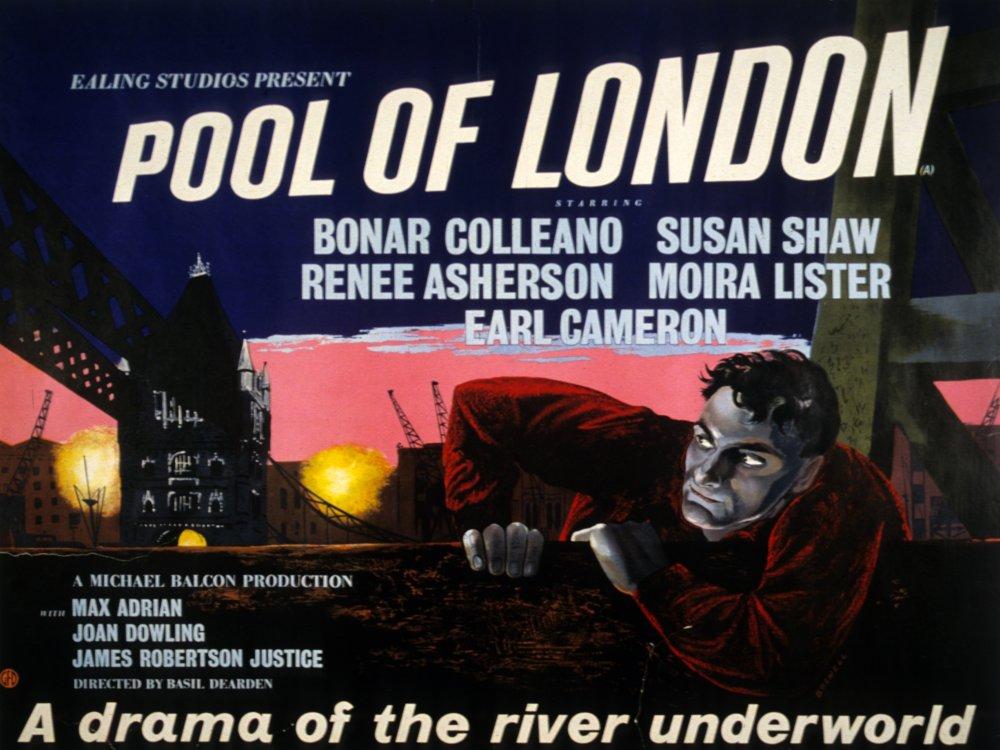 Pool of London (1950) film poster
