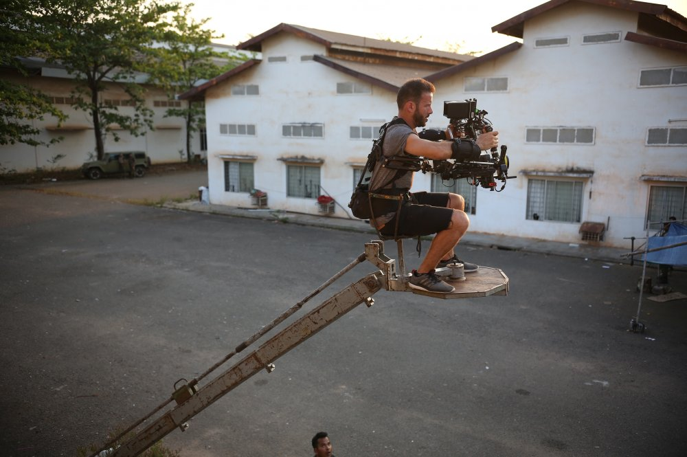 Armed with an Alexa camera up a rusty crane, the LA-based director of photography Lucas Gath embraces Cambodia's more relaxed attitude to health and safety