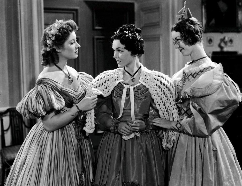 Greer Garson, Margaret O'Sullavan and Hunt in Pride and Prejudice (1940)