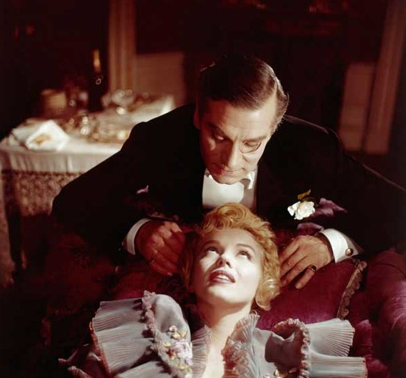 Monroe and Laurence Olivier in The Prince and the Showgirl (1957)