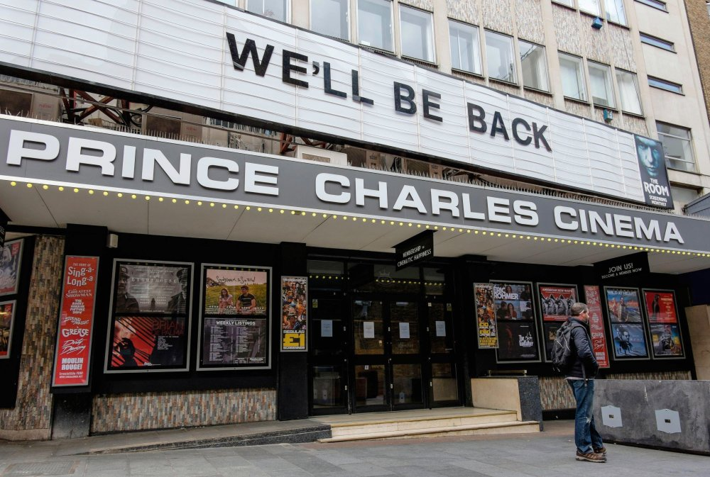 The Prince Charles Cinema in the West End of London has, along with every other cinema in the UK, closed its doors