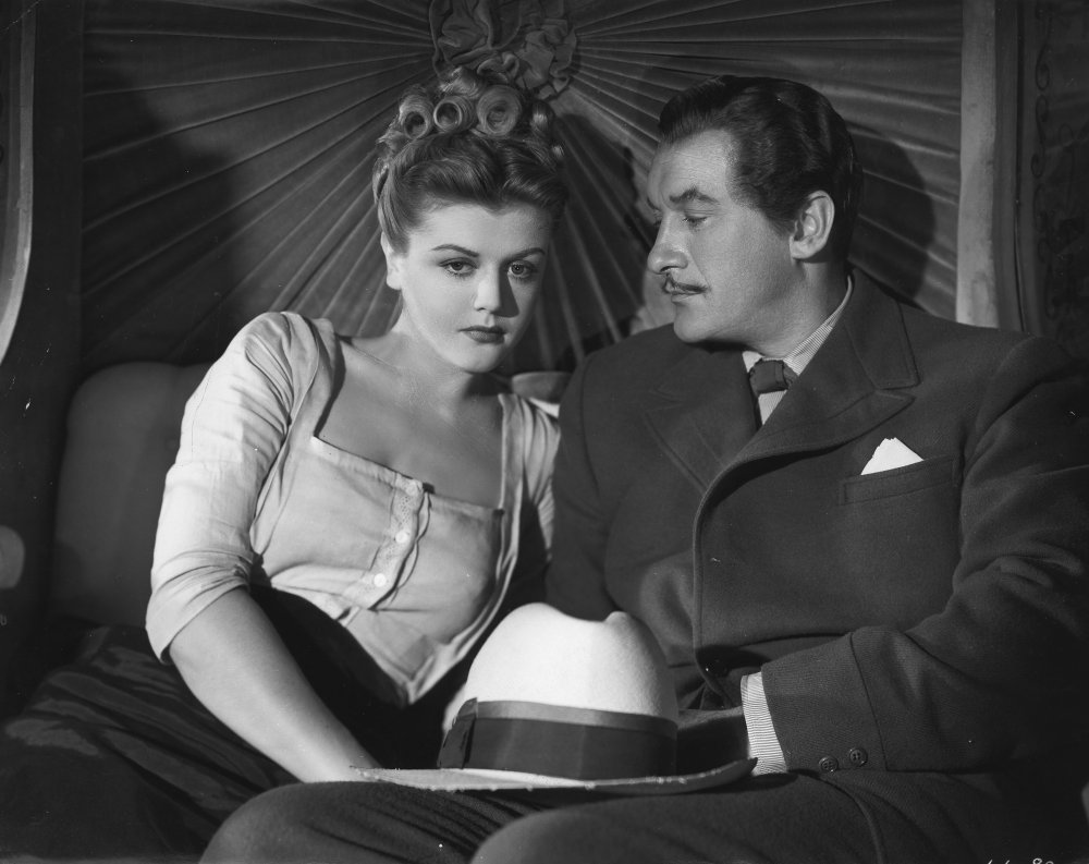 Angela Lansbury and George Sanders in The Private Affairs of Bel Ami (1946)