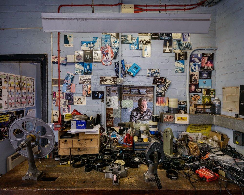 Peter Howden, Rio Cinema, Dalston, London