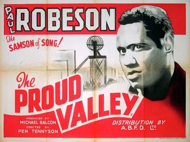 The Proud Valley (1940) poster