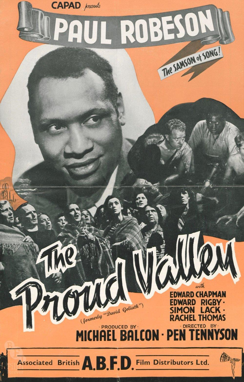 The Proud Valley (1940) pressbook