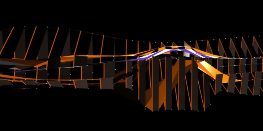 Quayola's visuals for live piano by Will Dutta