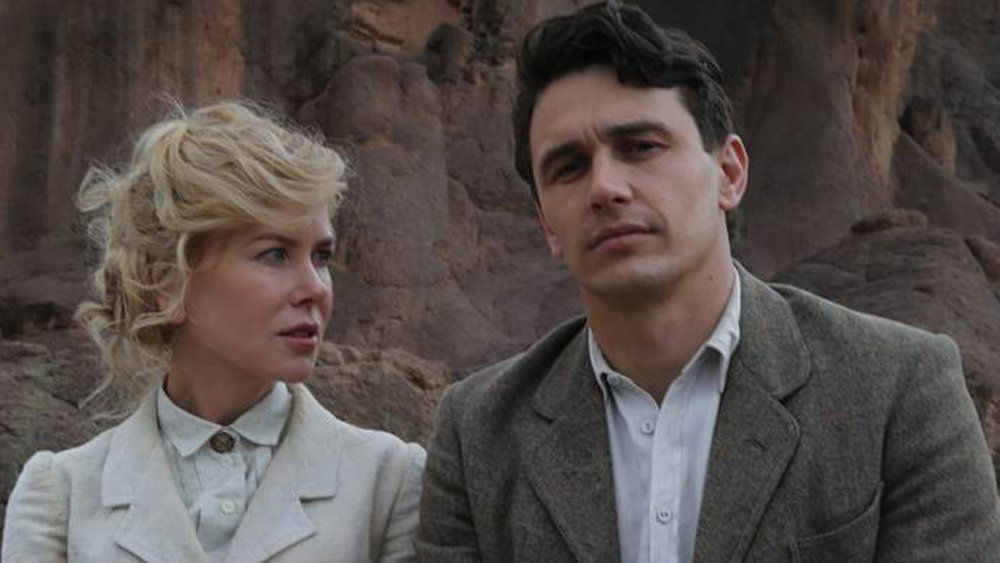 Kidman with James Franco as Henry Cadogan