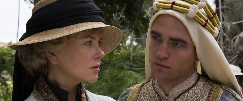 Kidman with Robert Pattinson as T.E. Lawrence