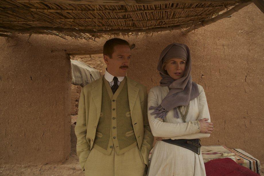 Damian Lewis as Major Charles 'Richard' Doughty-Wylie with Kidman