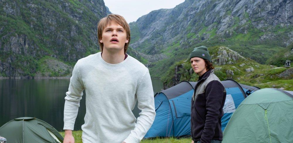 David Stakston and Jonas Strand Gravli in Ragnarok, a Norwegian teenage supernatural drama coming to Netflix in 2020