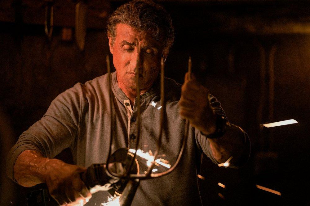 Sylvester Stallone as John Rambo in Rambo: Last Blood