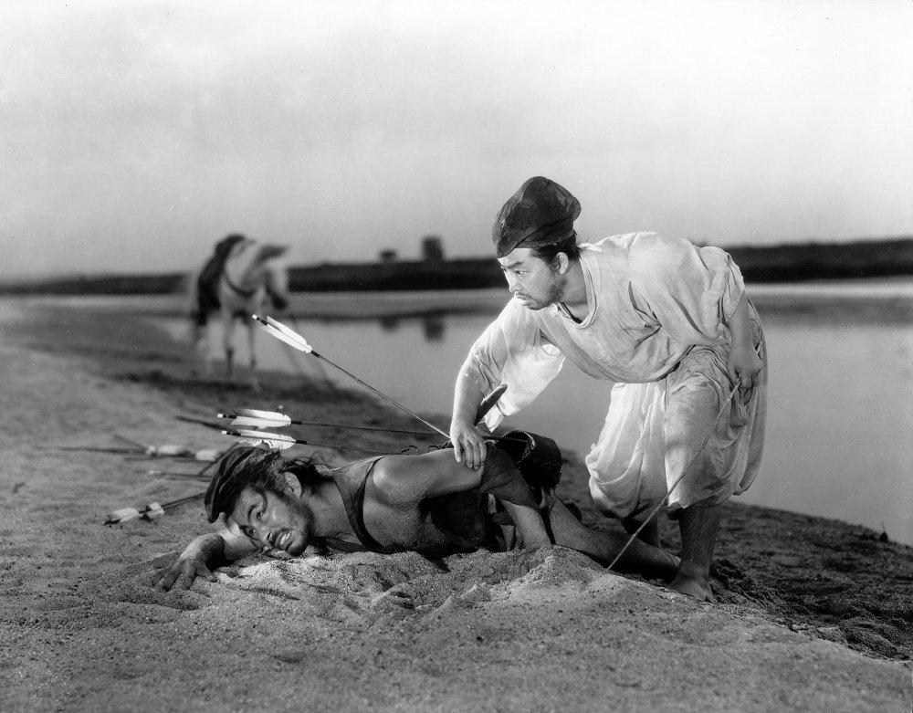 Rashomon (1950): cinematography by Kazuo Miyagawa