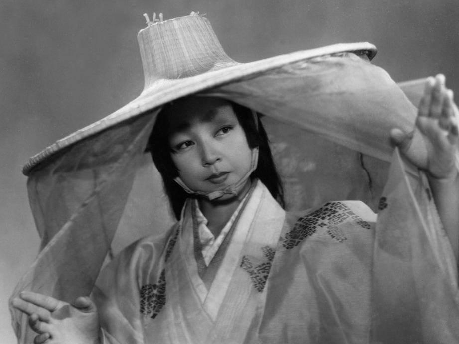 Machiko Kyo in Akira Kurosawa's Rashomon (1950)