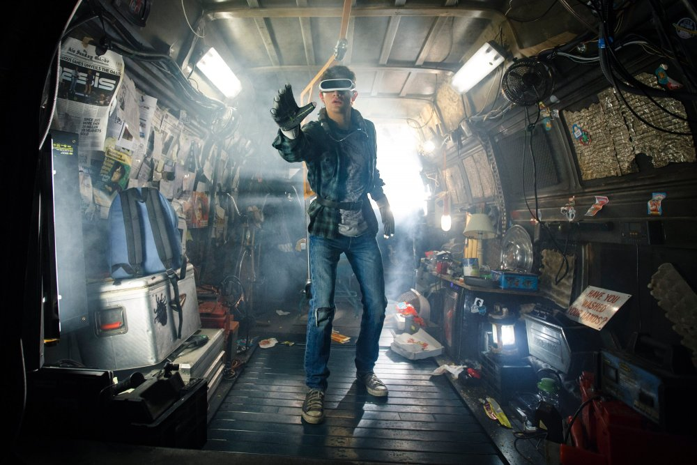 Tye Sheridan as Wade in Ready Player One