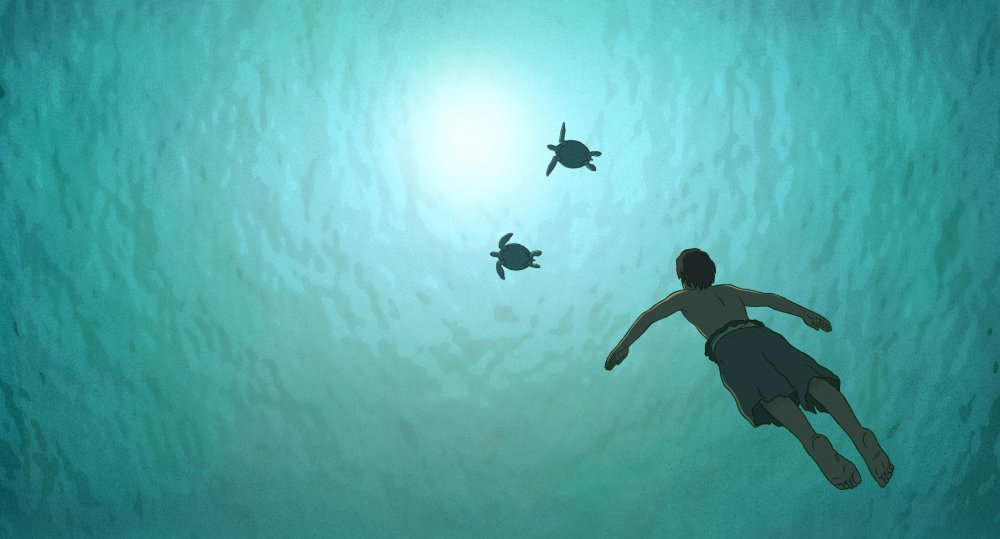 The Red Turtle (La Tortue rouge, 2016)