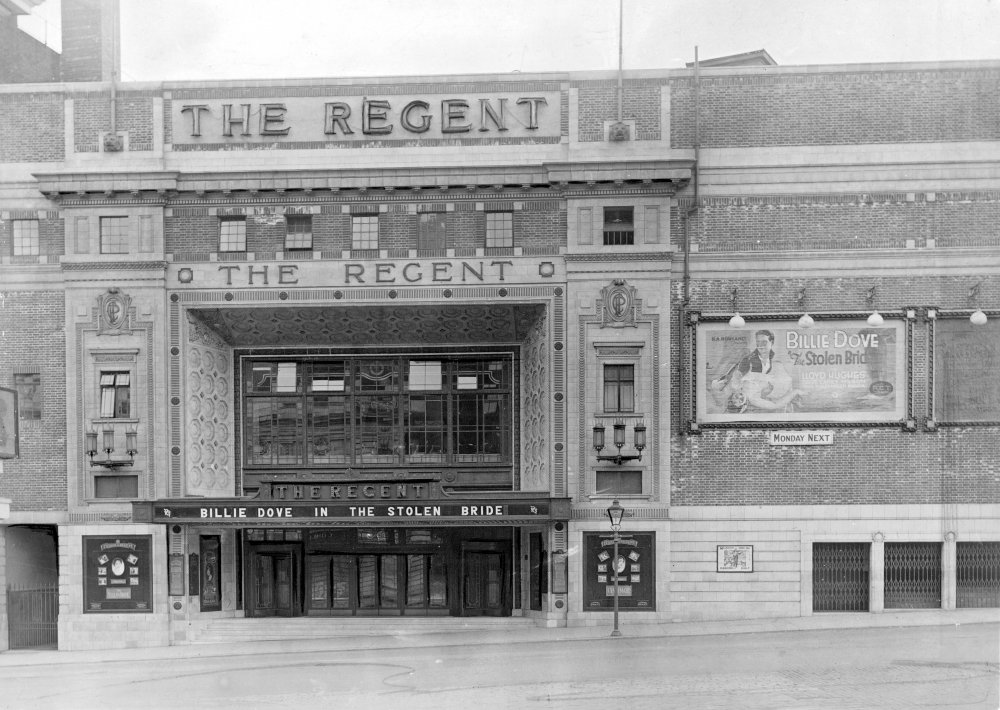 The Regent Cinema, Sheffield, 1927