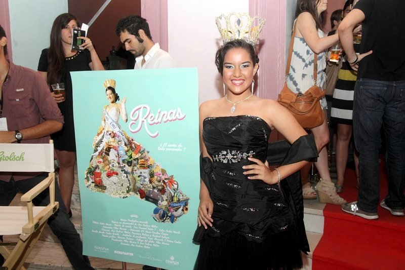 At the premiere of Reinas (Queens)