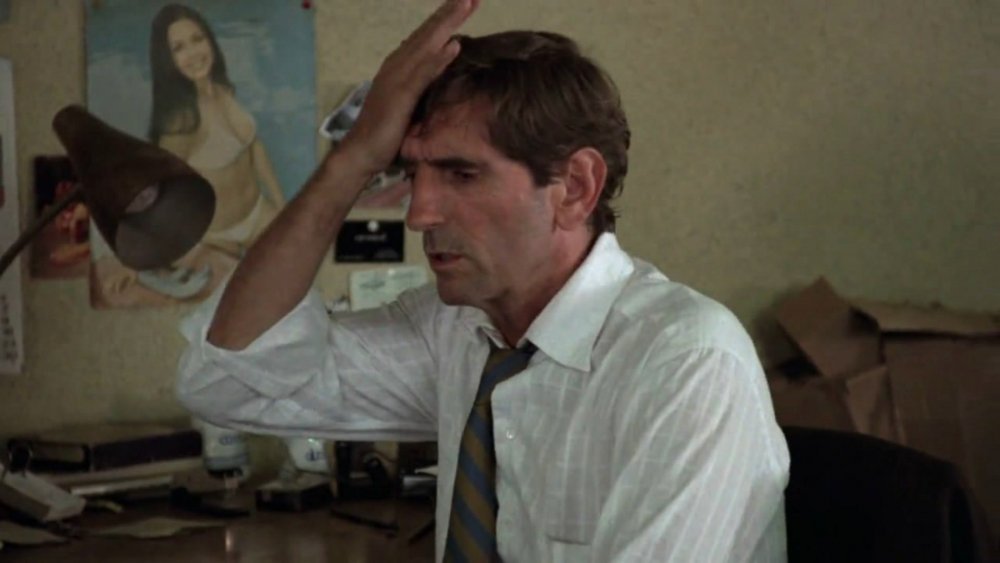 Wired and worrisome: Harry Dean Stanton in Repo Man (1984)