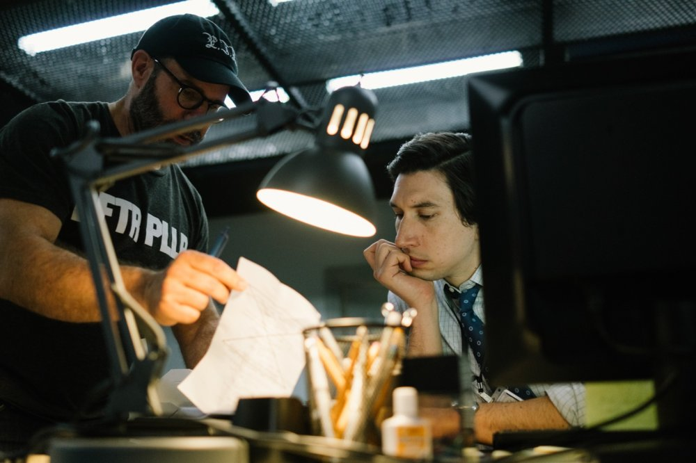 Scott Z. Burns directs Adam Driver for The Report (2019)