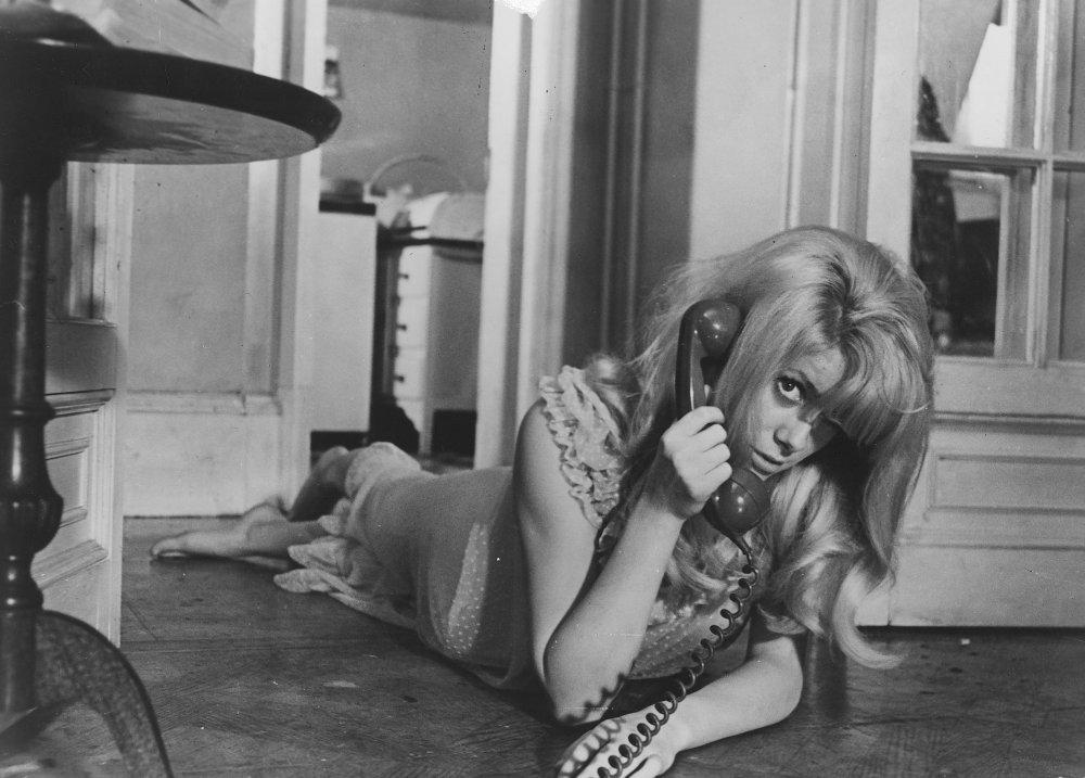 Catherine Deneuve as Carol Ledoux in Repulsion (1965)