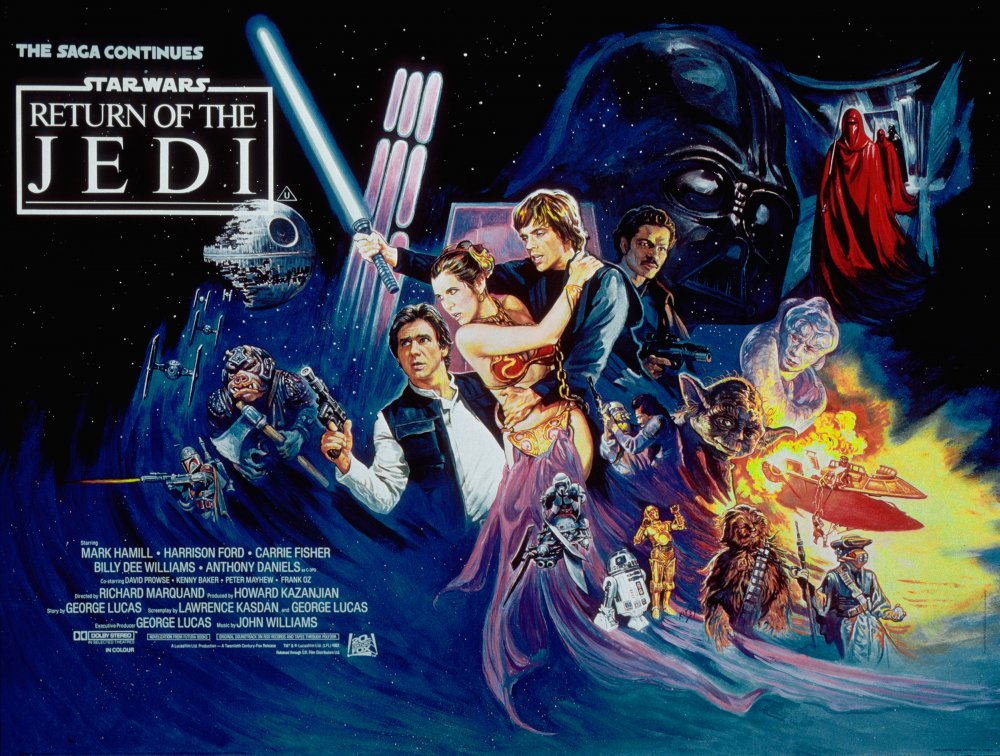 Return of the Jedi (1983) poster