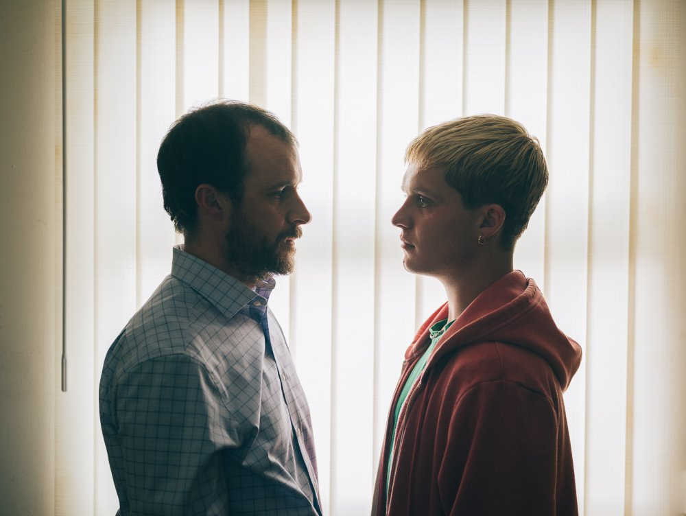 Tom Vaughan-Lawlor as Colm and Tom Glynn-Carney as Jay in Rialto