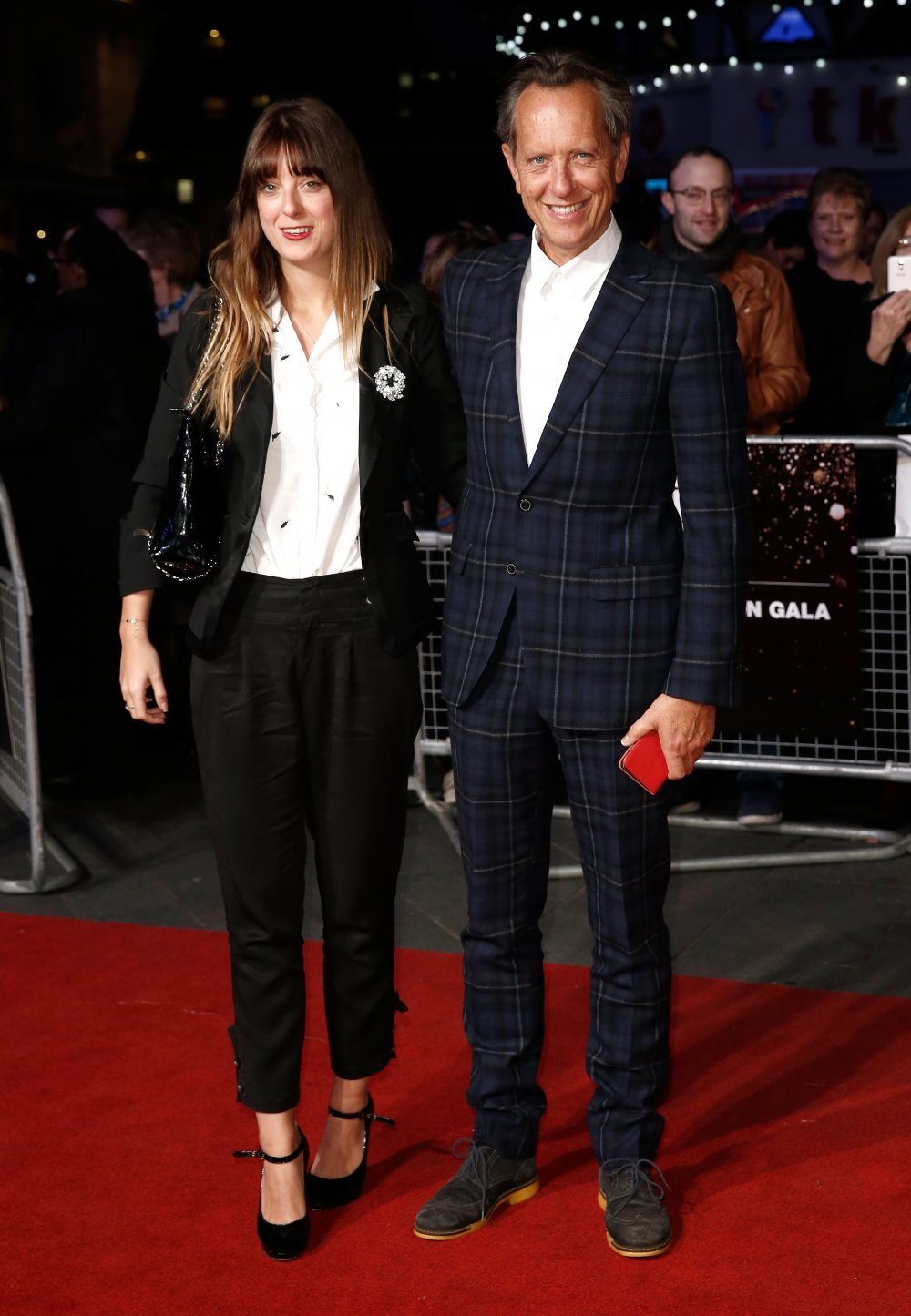 Richard E. Grant and his daughter Olivia attend the Mayor's Centrepiece Gala screening of Their Finest at Odeon Leicester Square