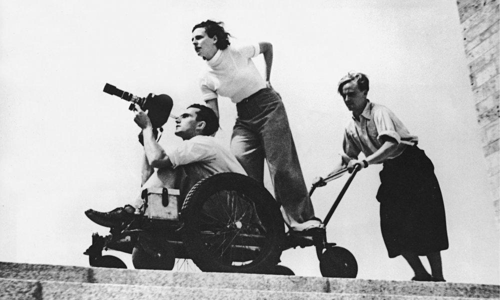 Nazi iconographer Leni Riefenstahl