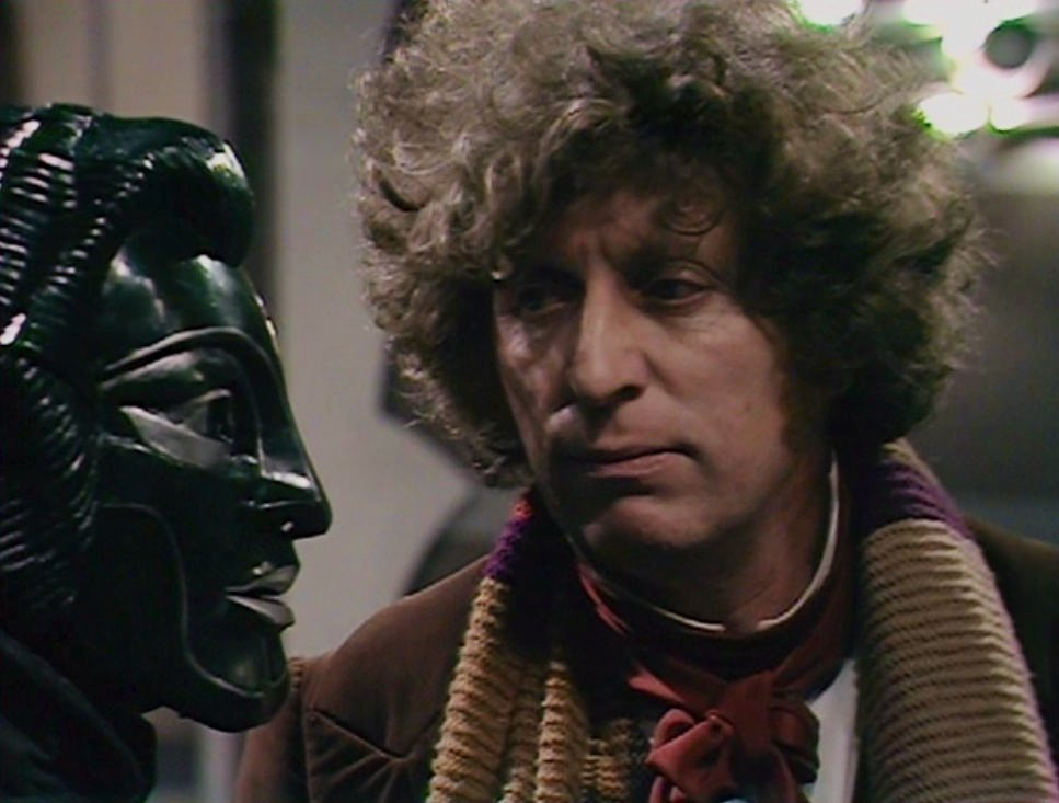 Young Tom Baker The Robots of Death  1977