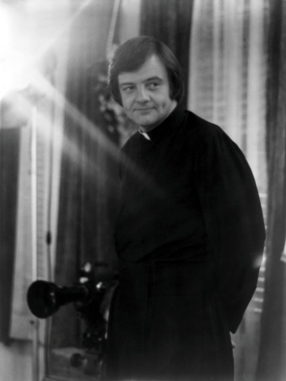 George A Romero shooting Martin (1976)